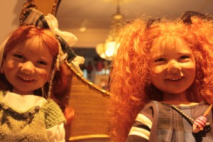 Renee Silvester's collection of dolls